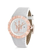 Tridente - Rose Golden Stainless Steel Women&#39;s Wat