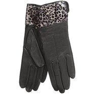 Cire by Grandoe Dali Leather Gloves - Lambswool-Ca
