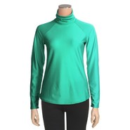 Snow Angel Doeskin Base Layer Turtleneck - Midweig