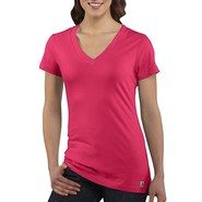 Carhartt V-Neck T-Shirt - Short Sleeve (For Women)