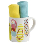 DII Mug and Dish Towel Gift Set