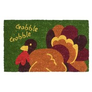 Imports Unlimited Gobble Gobble Entry Mat - Coir, 