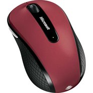 Microsoft Wireless Mobile Mouse 4000 (Red)