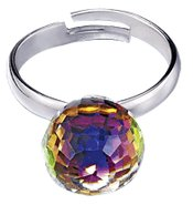 Faceted Iridescence Ring