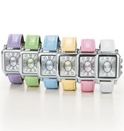 Pretty Pastel Strap Watch