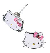 Hello Kitty- Stud Earrings