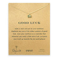 Good Luck Necklace, 16 , Gold, 1 ea