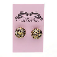 Gumball Earrings, .5 , Gold Gold, 1 ea
