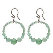 Earrings, Green Aven, Green Aven, 1 ea