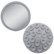 E-Z Grip Spot Mirror, Gray, 1 ea