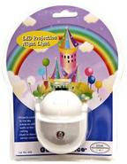Rainbow Castle LED Projection Night Light (W3087)