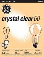 60 Watt 2-Pack Clear Light Bulbs (90409)