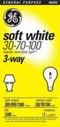 3-Way Soft White Bulb -  30/70/100 Watts (90502)