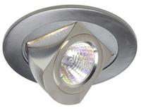 4  Low Voltage Chrome Adjustable Recessed Light Tr