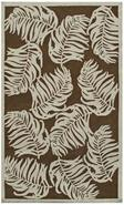 Date Palm Brown Indoor Outdoor Rug (K0186)