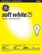 25 Watt 2-Pack Soft White Light Bulbs (90002)