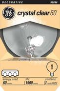 60 Watt G-25 Medium Base Clear Light Bulb (90896)