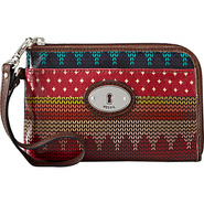 Key Per Wristlet Stripe - Fossil Ladies Small Wall