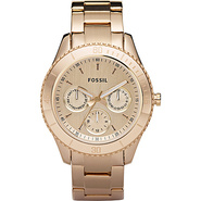 Fossil Ladies Rose Gold Stella Multifunction