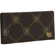 Cadillac Tri-Fold Wallet - Brown