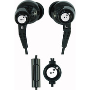 True Fidelity Sound Isolation Earphones Black - Ab