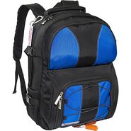 E2 Voyager Backpack - Black Blue