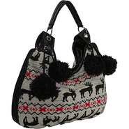 Sweater Knit Hobo Bag - Shoulder Bag