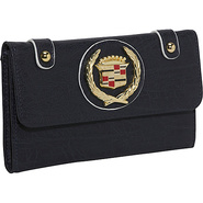 Cadillac PU Leather Wallet - Blue