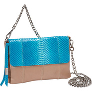 Nimble Crossbody Turq Snake Combo - Foley + Corinn