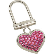 Small Heart Key Chain - Rose