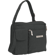 Wallet Bagg Large Crinkle Nylon - Black