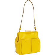 Soft Simple Packet Holly Bag Canary - Orla Kiely D