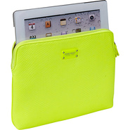 Bright Lights iPad Sleeve Citron/Citron - Nine Wes