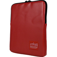 Vinyl iPad Sleeve - Red