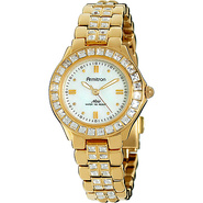 Swarovski Crystal Accented Watch Gold - Armitron W