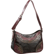 Calico Creek Collection Handbag Rasberry, Distress