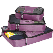 Packing Cubes - 3pc Set - Eggplant