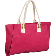 Jute Canvas Tote - Tote