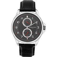 Vintage I Men's Watch - Leather Black/Black - Gior