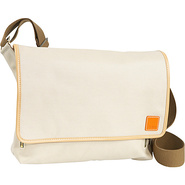 Carina iPad Messenger Bag - Stone
