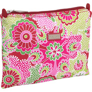 Small Zippered Carry All - Jazz Ruby