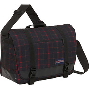 Jansport Throttle Laptop Messenger Bag - Red Riff