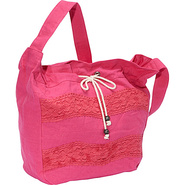 Hometown Girl Shoulder Bag Fuchsia - Roxy Fabric H