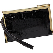 Color Rush Frame Wristlet Black - Anne Klein Ladie