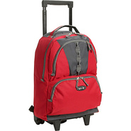 Rolling Backpack 18  - Red