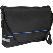 E2 West End Messenger - Black Blue