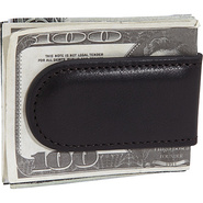 Tacconi Leather Money Clip Tacconi Black (224) - B