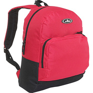 Classic Backpack with Organizer - Red/Black