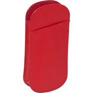 Slip In Double Eyeglass Case - Hot Red