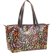 Stepping Out Top Zip Tote - Tote